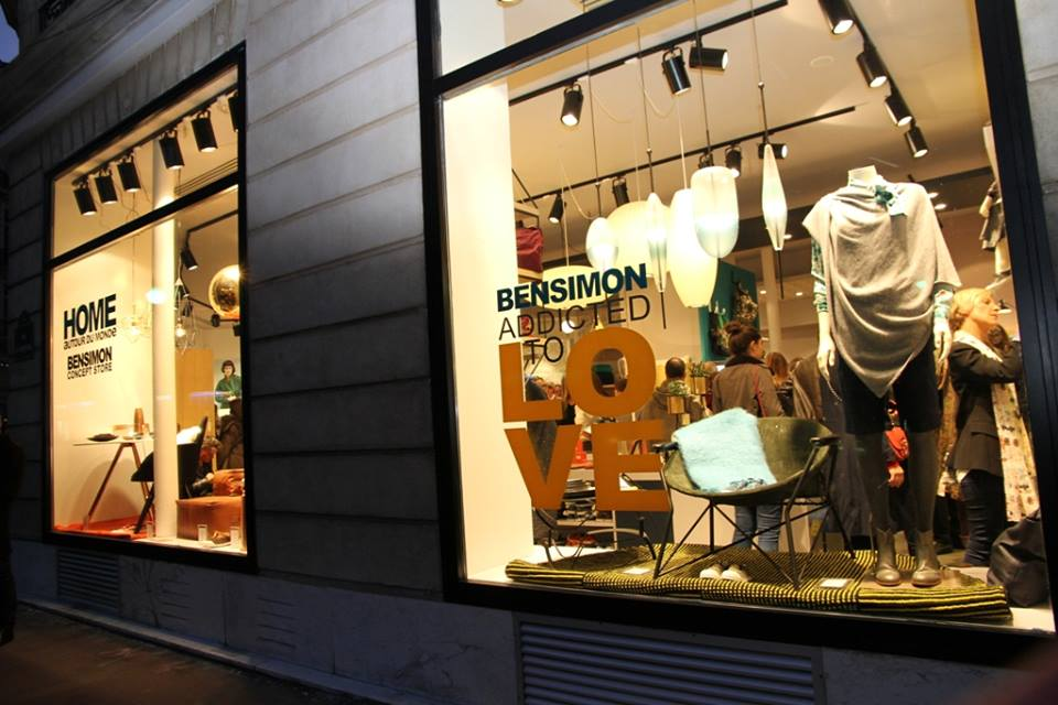 Boutique Bensimon - Paris Frivole