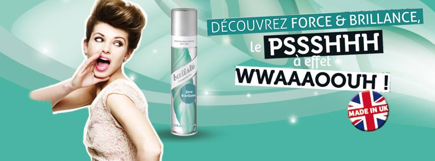 batiste - cheveux brillants